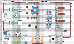 how to create a floorplan of your space in excel