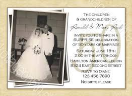 50th wedding anniversary invitations throughout keyword