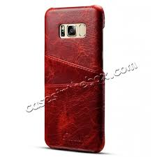galaxy s8 leather cover whole luxury genuine leather back case pouch card pocket cover for