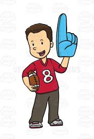 sports fan clipart. pin fans clipart sports jersey #5 fan p