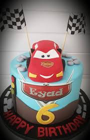 Ranias Cakes Happy 6th Birthday Big Boy Red Cars Facebook