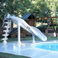 inflatable above ground pool slide. Swimming Pool Slides X Stream Foot Water Slide Inflatable Above Ground .