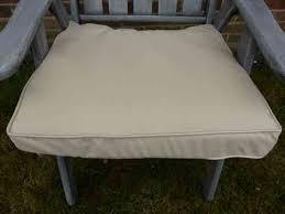 garden furniture cushions beige deep seat pad armchair cushion 48x52x7