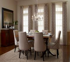 Terrific Formal Dining Room Window Treatment Ideas Pictures Design Ideas
