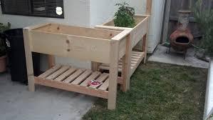 raised planter box simple