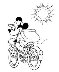 Mimi Mickey Mouse Kerst Kleurplaat