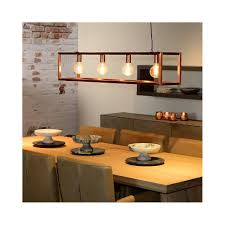 Copper Dining Table Lights Lucide Oris Pendant Retro Island Bar With Copper Finish In
