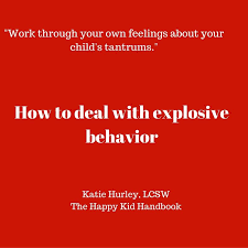 How to Deal With Explosive Temper Tantrums | Temper tantrums, Tantrums,  Tantrum kids