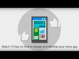 10 tips on how to design and develop your news app - YouTube