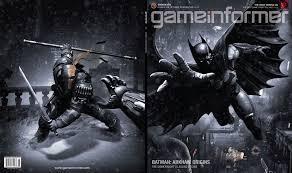 game informer may cover revealed batman arkham origins