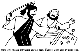 Small Picture Jesus Clears The Temple Coloring Page Coloring Home
