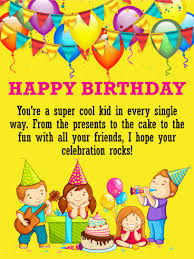 free childrens birthday cards birthday wishes cards for kids birthday greeting cards by