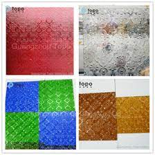 China Flora Patterned Glass/Flora Figured Glass for Decoration (FP-TP) -  China Flora Patterned Glass, Flora Figured Glass