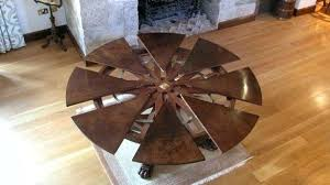 perfect expanding round dining table lovely expandable fresh about remodel awesome canada wood mechanism uk