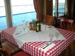 Italian Table Setting Where To Eat On The Carnival Magic Cruise Ship Carnivals