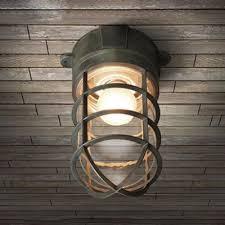 industrial nautical flush mount ceiling