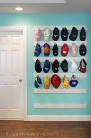 cap display rack hat baseball
