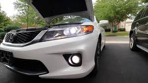 2013 Honda Accord Fog Light Installation Replace Fog Bulbs Honda Accord Coupe 2013 2015 Lasfit Fanless Cree Led Review