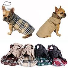 giiwin reversible pet dog clothes winter coats jackets for small large dogs cat clothing warm striped winter costume kp0001 posh pets wardrobe