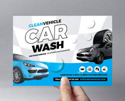 Car Wash Tri-Fold Brochure Template In Psd, Ai & Vector - Brandpacks
