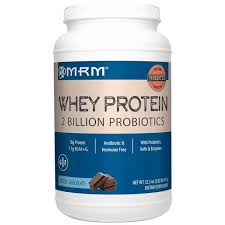 MRM, <b>Natural Whey Protein</b>, <b>2</b> Billion Probiotics, Dutch Chocolate ...