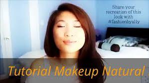 tutorial makeup natural korea beauty style