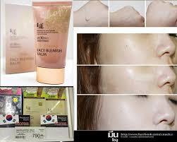 no makeup face blemish balm whitening cream spf 30 pa ขนาด 50 ml welcos