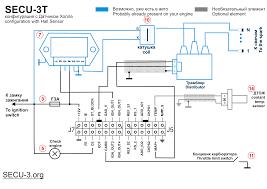 wiring diagrams for secu 3 units examples МПСЗ secu 3 МПСЗ secu 3t синхронизация от ДХ minimal wiring diagram
