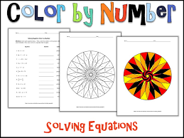 solving equations color by number by charlotte james615 teaching resources tes