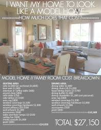 Great How Much Does An Interior Decorator Cost Featured Model Home U2013  Melia Homes In La