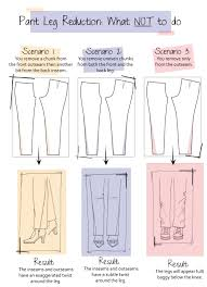 Make Pants Slim It Down Make A Wide Leg Skinny What Not To Do And Why