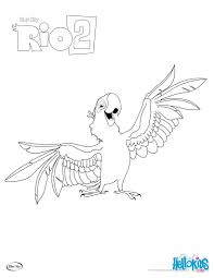 Small Picture Rio 2 blu coloring pages Hellokidscom