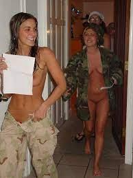 Army Girls Showering Nude Porno Photo