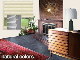 mid century modern window treatments. Brilliant Treatments Mid Century Neutral Living Room In Mid Century Modern Window Treatments D