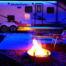 Camper Lights Rv Single Color Led Awning Kit