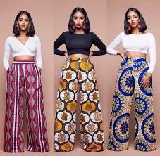 African Trousers Designs Ankara Wide Legged Pants African Fashion African Fashion