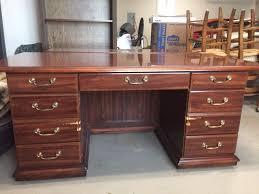 free executive desk and credenza image 1