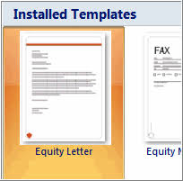 word templates 2007 word 2007 using a template
