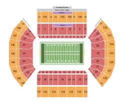 Byu Seating Chart Byu Tickets Seating Chart Lavell Edwards Stadium Football