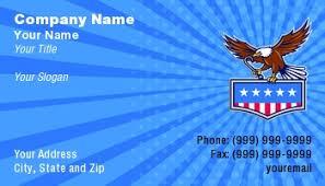 American Legion Business Cards