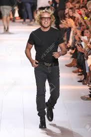 Peter Fashion Designer Milan Italy September 26 Designer Peter Dundas Walks The