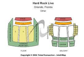 Hard Rock Live Miami Seating Chart Hard Rock Live Orlando Seating Chart