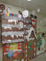 gingerbread house bulletin board ideas. Perfect Board PRESCHOOL WINTER WONDERLAND  Gingerbread House Winter Wonderland Classroom  Door Decorations Houses Cardboard With Bulletin Board Ideas A