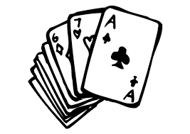 Coloring Page Playing Cards Img 9572 Images