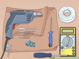 Installing Bathroom Fan New How To Replace A Bathroom Fan With Pictures WikiHow