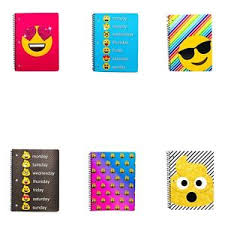 Details About New Id Emojis 1 Subject Notebook 70 Wide Ruled Sheets Text Message Emoticons