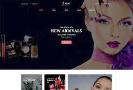 a beauty woomerce wordpress theme available for makeup artists spa salons hair styling experts cosmetics providers and dealers