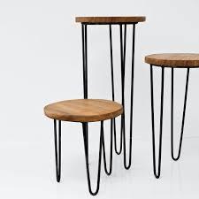 modern side tables. Aldama Side Tables - Black Modern D