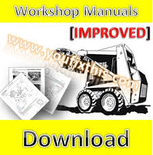 bobcat 753 753h repair manual skid steer loader  youfixthis preview