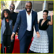 Kerry Washington & Idris Elba Honor Tyler Perry at His Hollywood Walk of  Fame Ceremony! | Crystal Fox, Idris Elba, Kerry Washington, Tyler Perry |  Just Jared